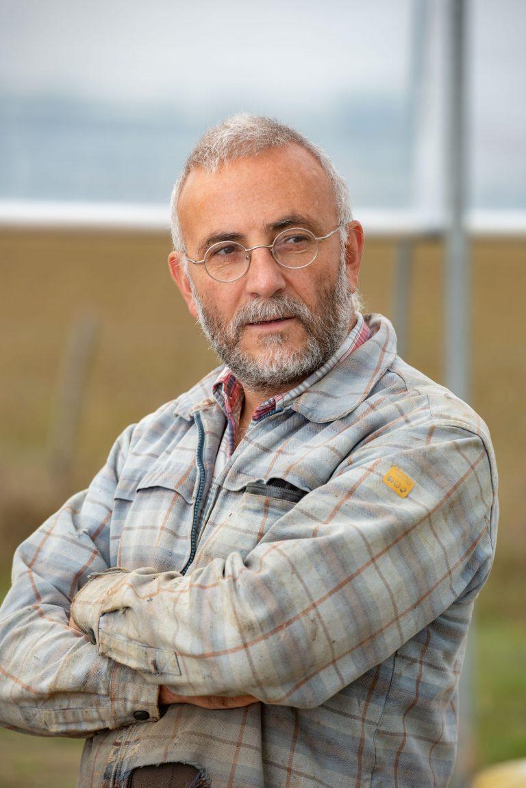 David Rotureau, producteur de légumes BIO pour La ferme des Hautes Herbes - Le Longeron(85)